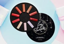 Review set son Etude House Dear My Blooming Lips-Talk Tiny Twinkle