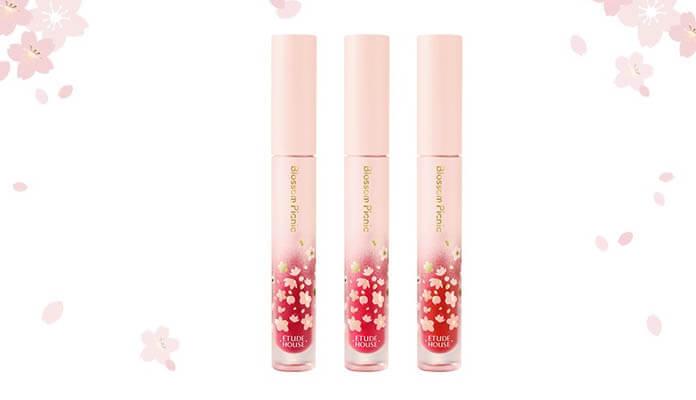 Review son kem lì Etude House Blossom Picnic Matte Chic Lip Lacquer