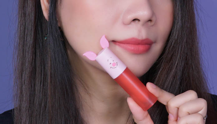 Review son Etude House Happy with Pigled Color In Liquid Lips Air Mousse