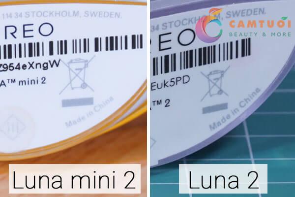 So sánh máy rửa mặt Foreo Luna 2 và Luna mini 2