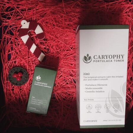 Review toner và tinh chất trị mụn Caryophy