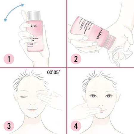 Review nước tẩy trang mắt môi Laneige Lip & Eye Remover Waterproof_ Ex