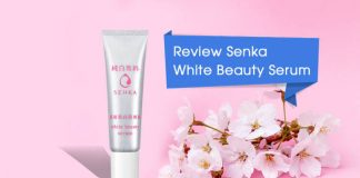 Review Senka White Beauty Serum