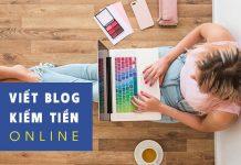viết blog kiếm tiền online trên mạng