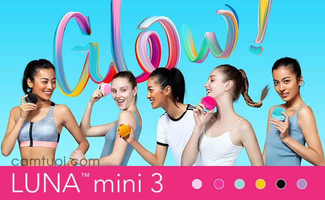 màu sắc máy rửa mặt Foreo Luna mini 3