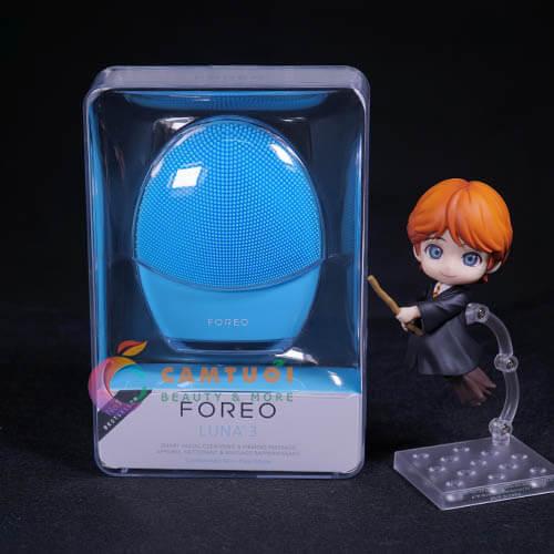 máy rửa mặt Foreo Luna 3 review