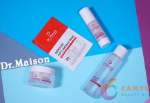 Review bộ mỹ phẩm DR.Maison Hàn Quốc