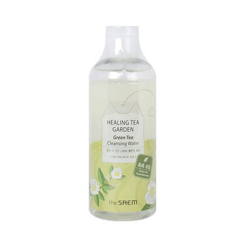 Review nước tẩy trang The Saem Healing Tea Garden Cleansing Water