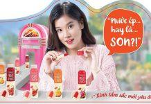 Review son dưỡng Lipice Sheer Clolor Fruit Juice