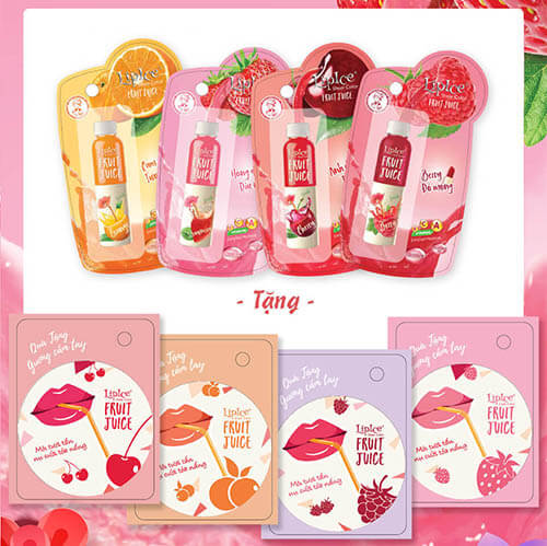 Review son dưỡng Lipice Sheer Clolor Fruit Juice