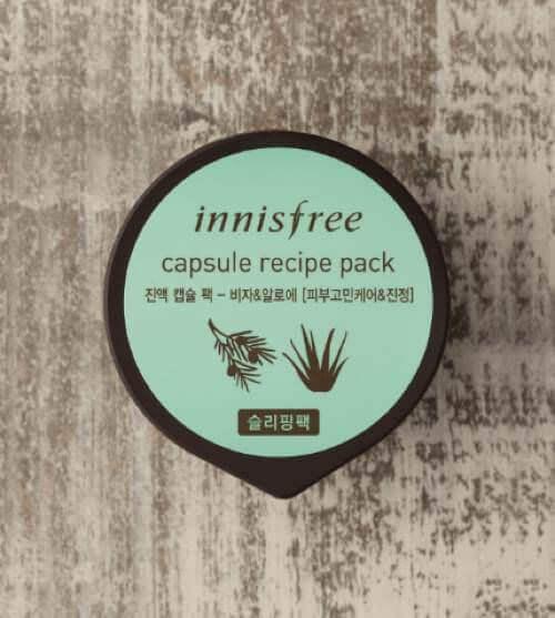 giá mặt nạ rửa innisfree capsule recipe pack