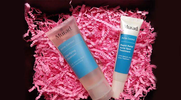 review gel rửa mặt và gel trị mụn murad