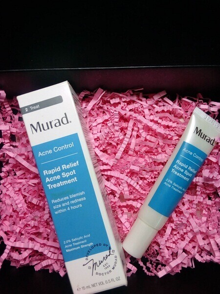 Review gel trị mụn 4h Murad Rapid Relief Acne Spot Treatment