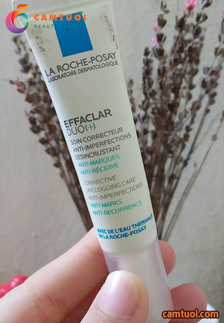 Review kem trị mụn La Roche-Posay Effaclar Dou+
