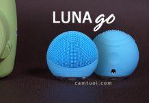 Review máy rửa mặt Foreo Luna go