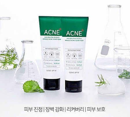 Review sữa rửa mặt trị mụn Some By Mi AHA BHA PHA 30 Days Miracle Acne Clear Foam