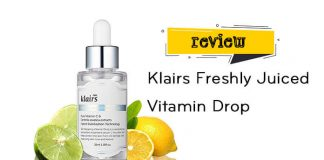 Review tinh chất Klairs Freshly Juiced Vitamin Drop