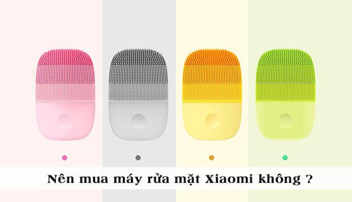 Có Nên Mua Máy Rửa Mặt Xiaomi Inface Không