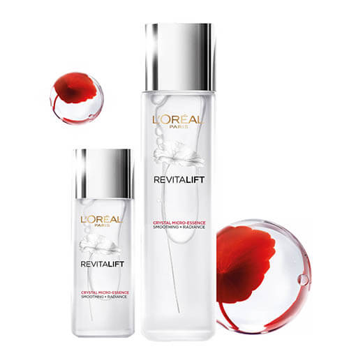 Review dưỡng chất căng mướt da L'Oreal Paris Revitalift Crystal Micro Essence