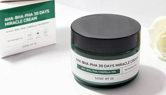 Review kem dưỡng trị mụn Some By Mi AHA-BHA-PHA 30 Days Miracle Cream