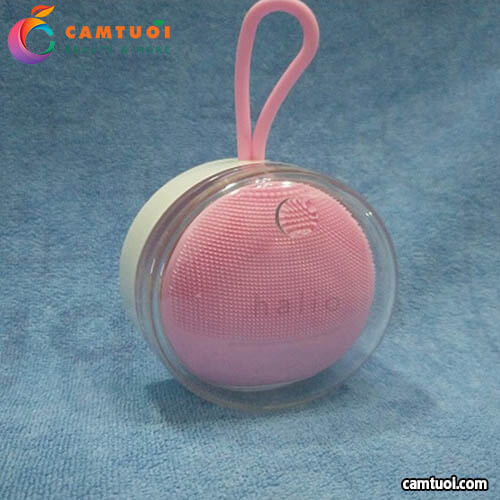 Review máy rửa mặt Halio Sensitive Facial Cleansing & Massaging Device
