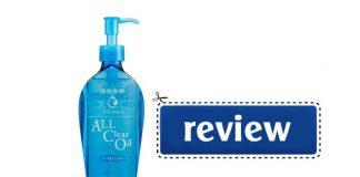 Review dầu tẩy trang Senka All Clear Oil