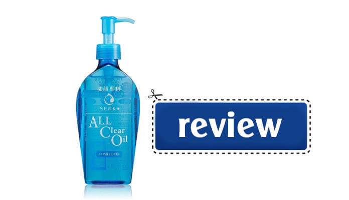 Review dầu tẩy trang Senka All Clear Oil