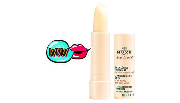 Review son dưỡng Nuxe Reve de Miel Lip Moisturizing Stick