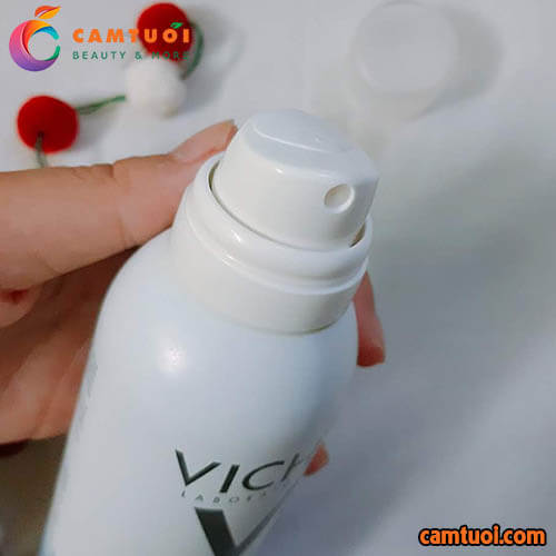 Review Xịt Khoáng Vichy Mineralizing Thermal Water