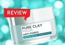 Review mặt nạ đất sét L'Oreal Paris Pure Clay Mask Anti Pores