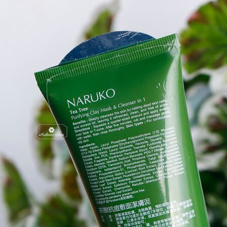 Review sữa rửa mặt Naruko Tea Tree Purifying Clay Mask And Cleanser In 1