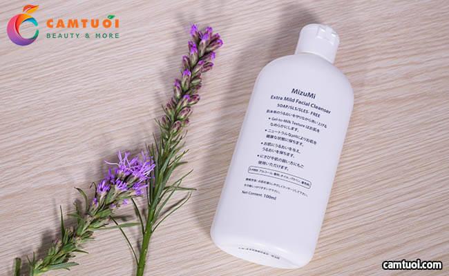 review Sữa Rửa Mặt MizuMi Extra Mild Facial Cleanser