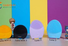 So sánh máy rửa mặt Foreo Luna mini 2 vs mini 3 vs Luna 2 và Luna 3
