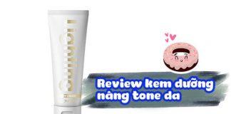 Review kem dưỡng nâng tone da Aconcept Lighting White Cream