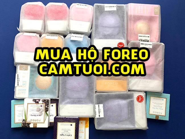 mua hộ order máy rửa mặt FOREO chính hãng