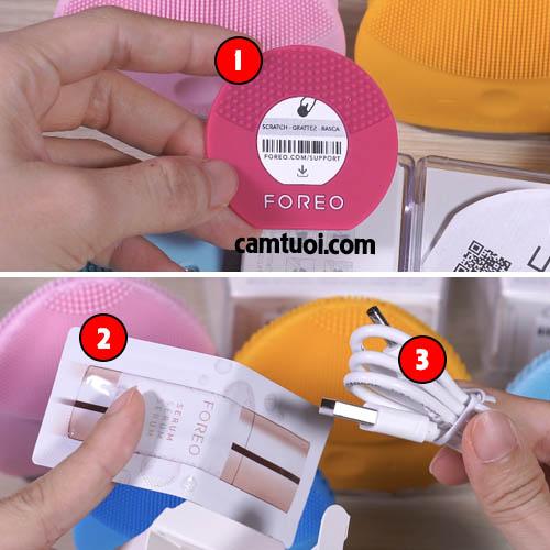 máy rửa mặt Foreo Luna mini 2 các màu