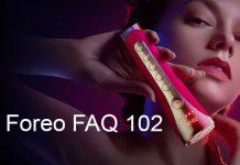 review máy đẩy tinh chất Foreo FAQ 102